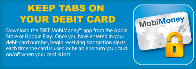 Keep Tabs On Your Debit Card With MobiMoney