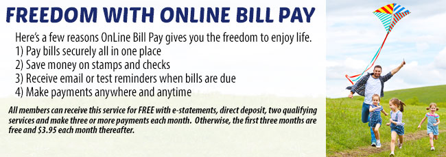 Freedom With Online Bill Pay