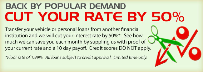 Back By Popular Demand - Cut Your Rate By 50%